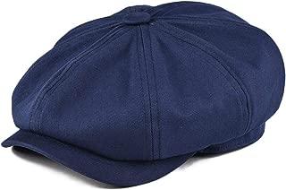 Men's 8 Piece Newsboy Flat Cap 100% Cotton Gatsby Ivy Golf Cabbie Hat