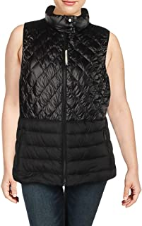 Calvin Klein Performance Womens Plus Fall/Winter Down Fill Outerwear Vest