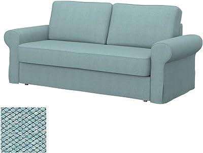 Soferia - IKEA BACKABRO Funda para sofá Cama de 2 plazas ...