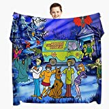 Cartoon Blanket 50'x40' Flannel Throws Blankets for Couch Sofa All Season Super Cozy Plush Blanket for Kids Adults