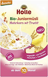 Holle Bio Muesli Cereal Flakes With Organic Fruit 10m + 250g