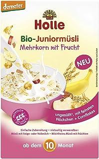 Holle Bio Muesli Copos De Cereales Con Fruta Biológica 10m + 250g