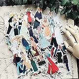 HENJIA 31PCS DIY en mi Querida niña álbum de Recortes Diario Diario Cuenta de Mano Material de Viaje planificador Feliz Pegatinas Decorativas