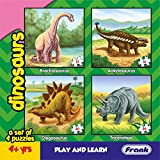 Best Puzzles - Frank - 11602 Dinosaurs Puzzle for 4 Year Review