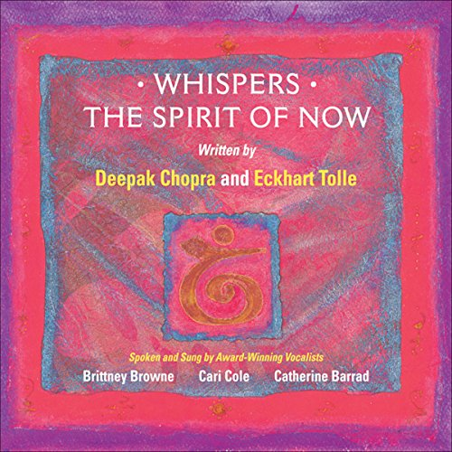 Whispers - The Spirit of NOW audiobook cover art