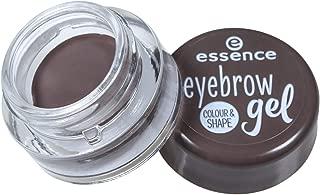 Essence Eyebrow Gel Color & Shape - Brown, 51627