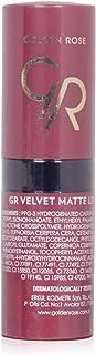 Golden Rose Velvet Matte Lipstick By Golden Roes, Brown No16, 201 Black