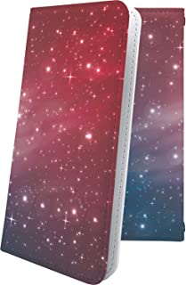 moto g8 plus ケース 手帳型 星 星柄 星空 宇宙 夜空 星型 オーロラ 天の川 赤 モト プラス おしゃれ motog8 g8plus かっこいい 10311-ffzdlf-10001632-motog8 g8plus