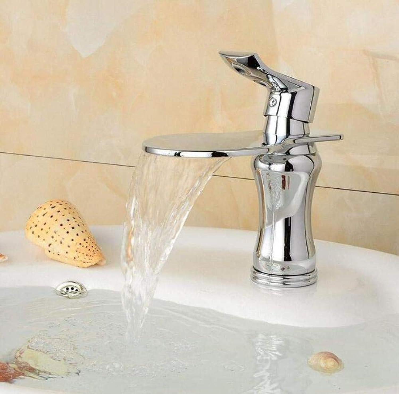 Retro Wasserhahn Chrom Bad Becken Wasserhahn Heies Und Kaltes Wasser Mischbatterie Versilberung Wasserfall Küchenarmatur