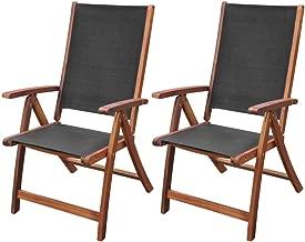 2x Gartenstühle Akazie Klappstuhl Essstuhl Holzstuhl Liegestuhl Garten Stuhl