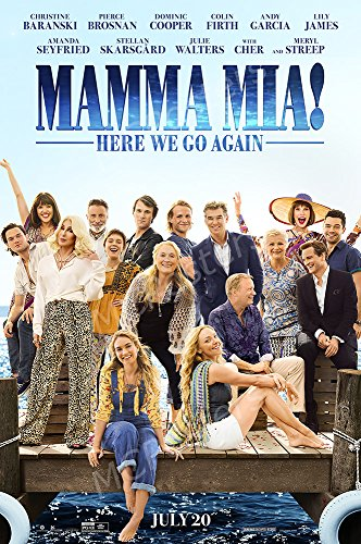 MCPosters Mamma Mia! Here We Go Again GLOSSY FINISH Movie Poster - MCP245 (16' x 24' (41cm x 61cm))