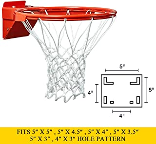 spring loaded basketball rim