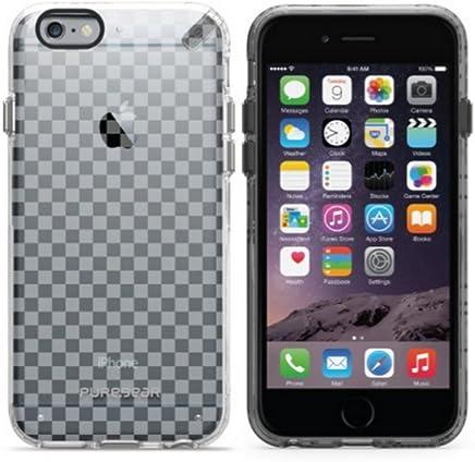 PureGear For iPhone 6s/6 クリアモチーフ・スリム・ハードシェルケース チェッカーズ 61458PG