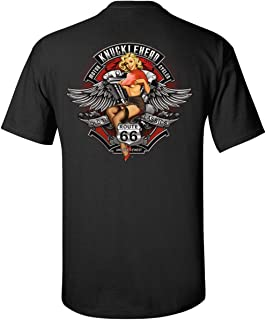 Knucklehead rt 66 Speed Shop Mother Road T-Shirt Tee