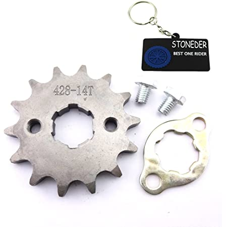 Stoneder 420 13 Zahn 20 Mm Vorne Kettenrad Gear 50 Cc 70 Cc 90 Cc 110 Cc 125 Cc 140 Cc 150 Cc 160 Cc Motor Atv Quad Pit Dirt Trail Bike Auto