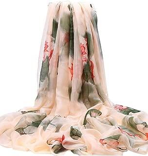 Female Scarf Shawl Long Multifunctional Print Scarf 195x135cm Ladies Scarf, C