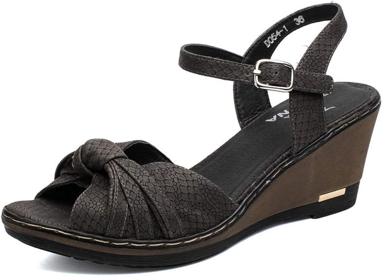 Women Sandals Summer Wedge Plaform Lady Flip Flops Trifle shoes for Women Comfortable Popular Style