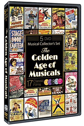 The Golden Age of Musicals (5 Disc Collector's Set)