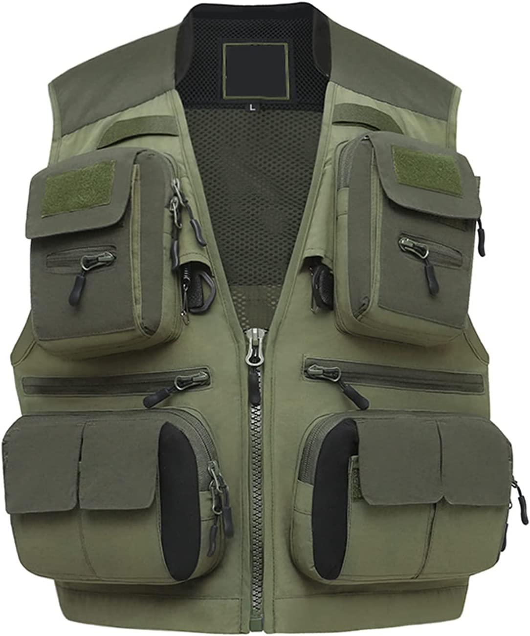 Outdoor safety Fishing Limited time sale Gear Vest with Photography 21 Pockets Travel Ves