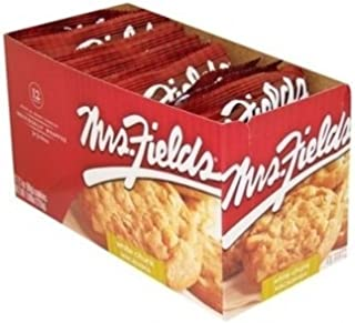 Mrs. Fields Individually Wrapped White Chunk Macadamia Cookies (2.1 oz./ Pack of 12)
