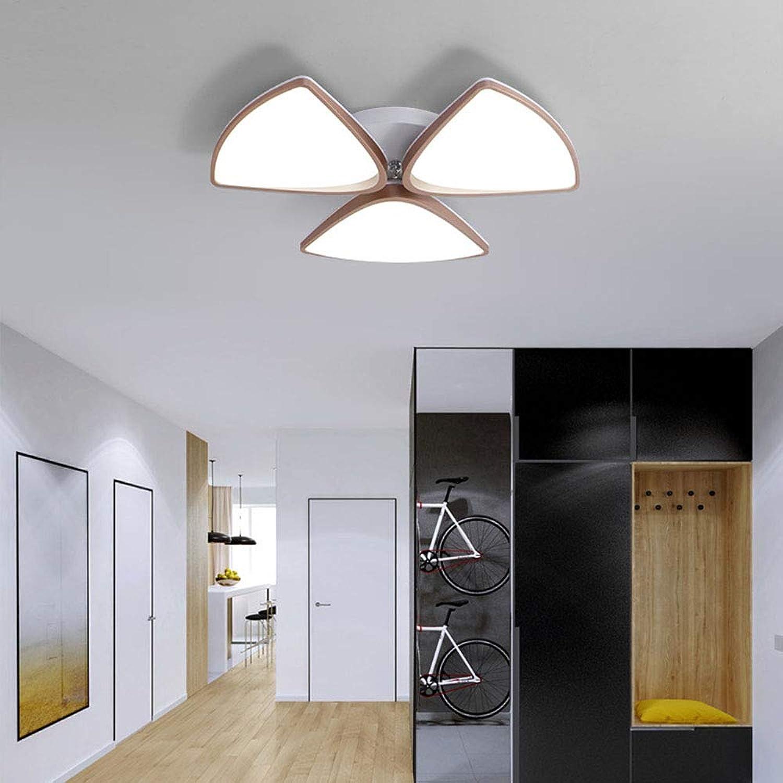 LED-Deckenleuchte Atmosphre Runde Blütenblatt Creative Warm Wohnzimmer Schlafzimmer Restaurant Arbeitszimmer