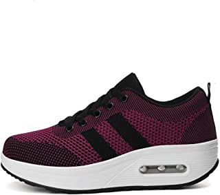 SKLT Air Cushion Platform Sneakers Women Running Shoes Mesh Breathable Lace Up Footwear Ladies Comfort Casual Basket Trainers Jogging