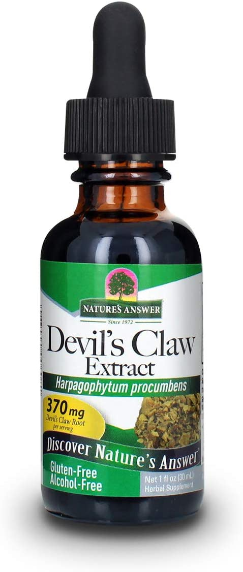 Nature's Answer Cheap sale Devil's Claw Root Alcohol O Extract Free 1 shipping anywhere in the nation Fluid