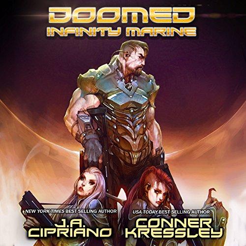 Doomed Infinity Marine audiobook cover art