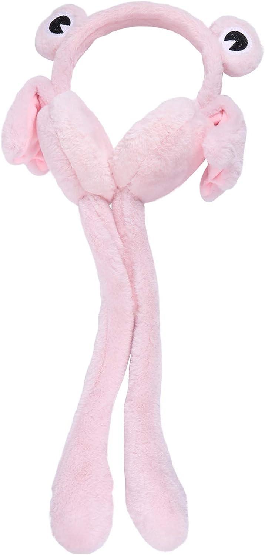 KESYOO 1 Pc Rana Shape Design Costume Prop Delicate Cartoon Creative Winter Earmuff