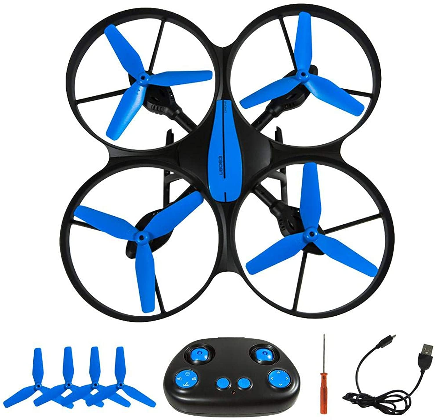 Ksruee RC Fouraxis Drone,Long Battery Life Folding Aerial Photo WiFi Image Transmission Remote Control Aircraft,with Builtin Battery.