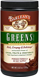 Barlean's Organic Oils Greens, Chocolate Silk