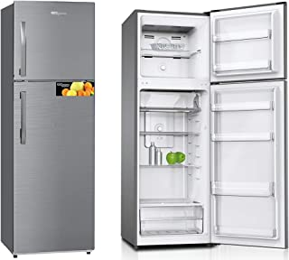 Super General 360 Liter Gross Compact Refrigerator/ Silver/ LED Lighting/ Storage Boxes/ 1670 x 550 x 600 mm/ SGR360I