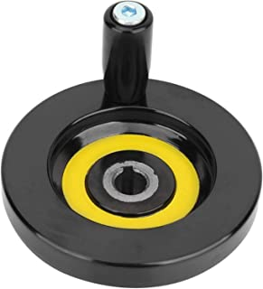 Frezen Handvat Handwiel, Achter Rimpel Revolving Handvat Handwiel, 10 * 80 Revolving Rimpel Handwiel 1 Stuks Voor Draaiban...
