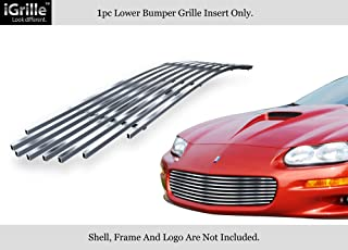 APS Compatible with 98-03 Chevy Camaro Camaro SS Stainless Steel Billet Grille Insert N19-C60068C