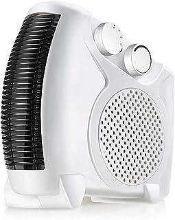SASAMM Adjustable Thermostat Tabletop or Under-Desk Heater, Mini Electric Fan Space Heater for Car Desk Bed Home Room