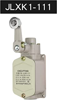 Limit Switch Plunger Protected Rocker Arm Self-Reset Normally Closed Travel (Color : JLXK1 111)