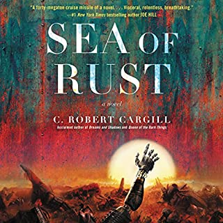 Sea of Rust audiobook cover art