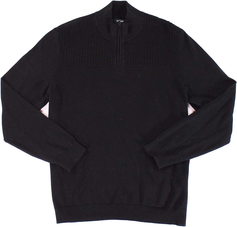 Alfani Mens Mock Neck Long Sleeves Sweater