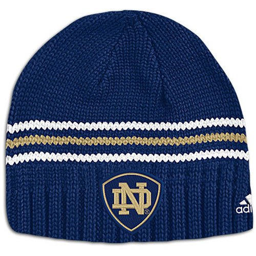 adidas Notre Dame Sideline Watch Knit Cap (sz. One Size Fits All, Navy : Notre Dame)