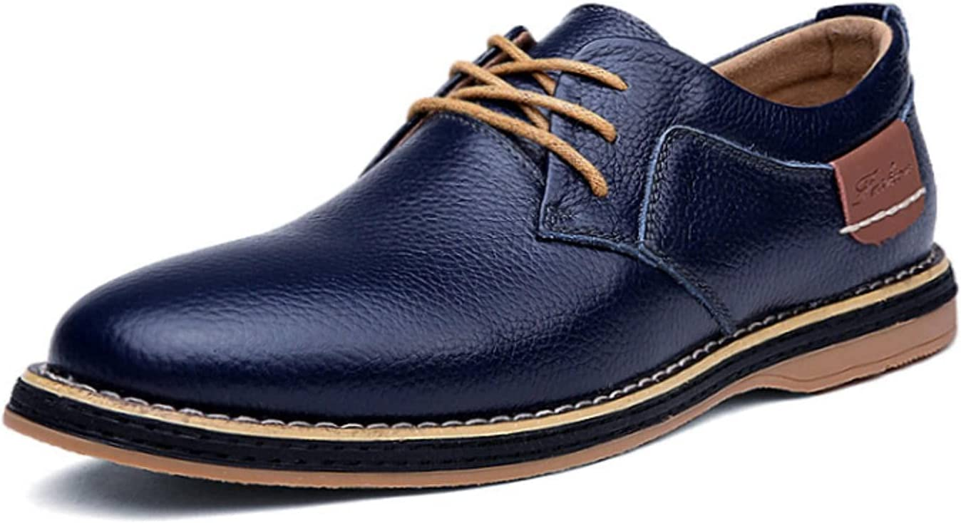 NC Men Oxfords Genuine Leather Dress Shoes Brogue Lace Up Mens Casual Shoes Luxury Brand Moccasins Loafers Men 2021 Plus Size38-48