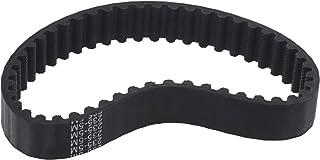Be In Your Mind - Correas de entrenamiento de goma para cortacésped, 12 mm de ancho, compatible con Mac Allister MBS800, color negro