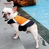 Dog Life Jacket Vest with Extra Padding for Dogs Reflecting (X Large, Green)