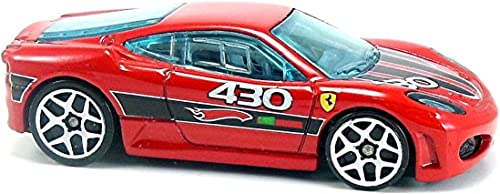 2009 Hot Wtalons Mystery voitures rouge Ferrari F430 Challenge w  blanc Y5s by Hot Wtalons