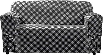Surprising Black 1Pc 60X120Cm Leather Waterproof Sofa Covers Cushion Machost Co Dining Chair Design Ideas Machostcouk