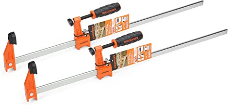 Jorgensen 2-pack Medium Duty Steel Bar Clamp Set, 24-inch