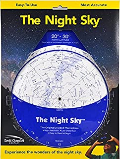 The Night Sky 20°-30°N (Large) Star Finder