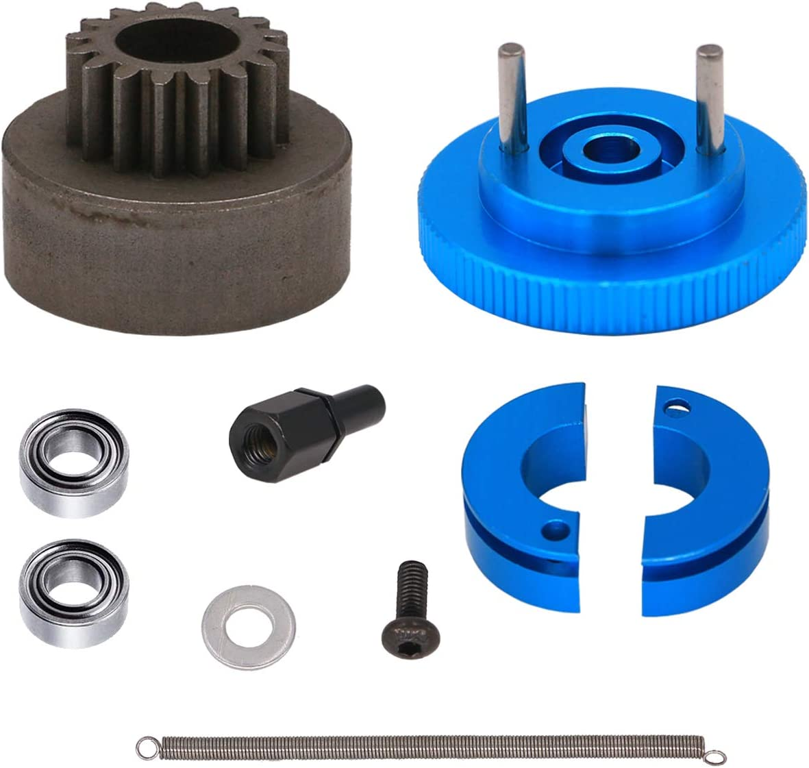 Treehobby 16T Flywheel Clutch Bell Ball Set HSP Same day shipping for Sales of SALE items from new works Bearings 9