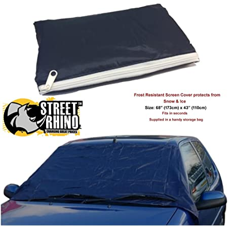 UKB4C Frost Ice Snow Car Windscreen Window Top Cover Fits Lexus CT