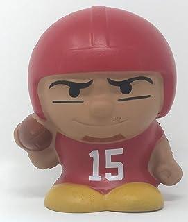 Party Animal Chiefs Mahomes #15 Quarterback QB Jumbo SqueezyMates NFL Figurine - 5 Inches Tall