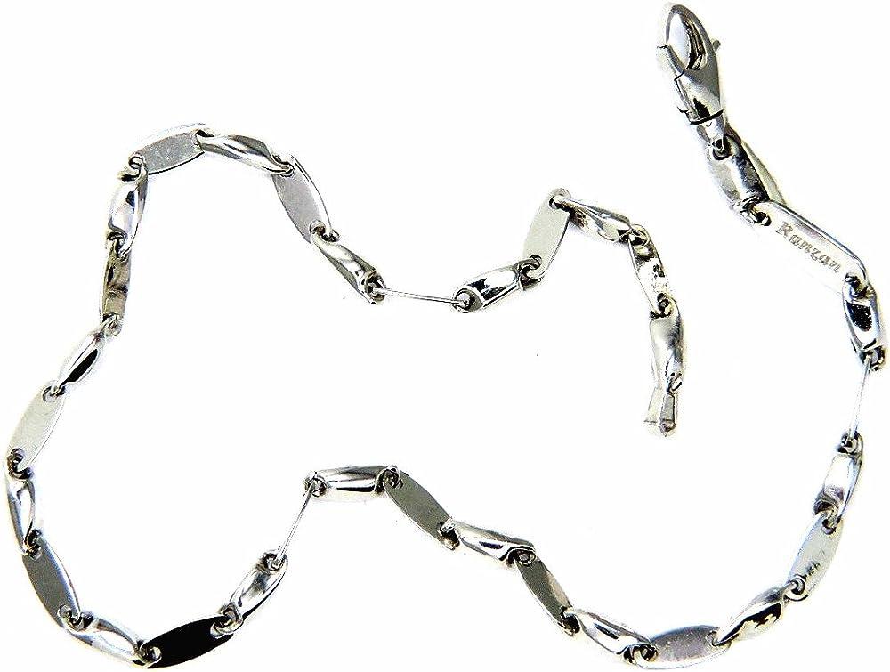 Pegaso gioielli bracciale oro bianco 18kt BR107
